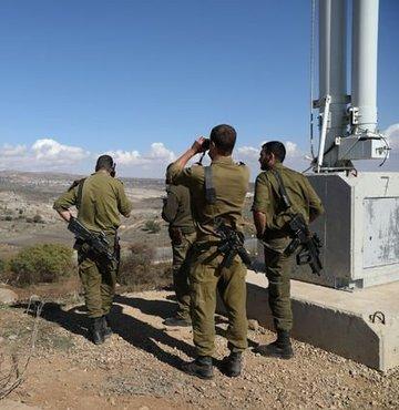 İsrail ordusundan yapılan açıklamada Golan Tepeleri