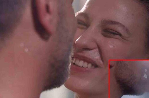 Serenay ile Ozan'ın öpüşme sahnesi olay oldu