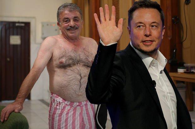 Ankara Cumhurbaşkanı Erdoğan Tesla Şengül Hamamı Elon Musk