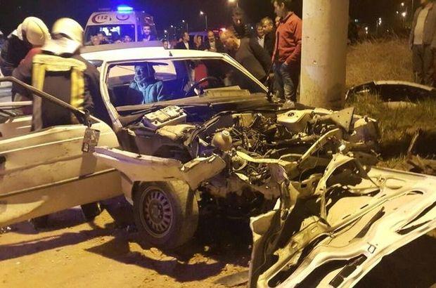 Denizli trafik kazası