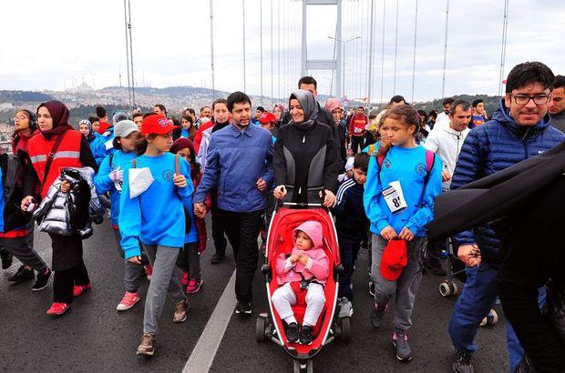 Bakan Kaya, Vodafone 39. İstanbul Maratonu'na katıldı