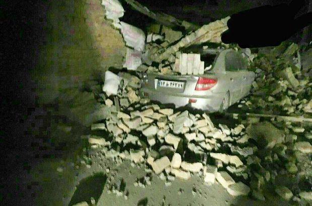 Irak deprem Süleymaniye