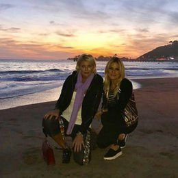 Malibu'da günbatımı