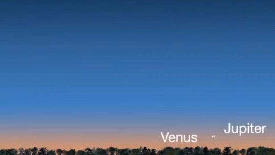Venüs ve Jüpiter bir araya geliyor!