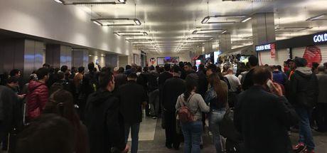 Atatürk Havalimanı metro istasyonunda alarm!