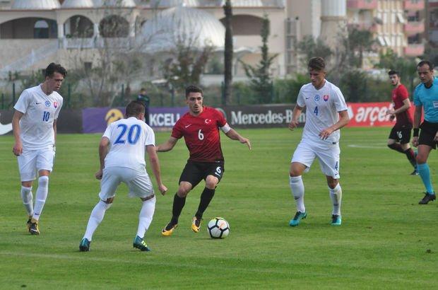 Slovakya: 3 - Türkiye: 2 | MAÇ SONUCU