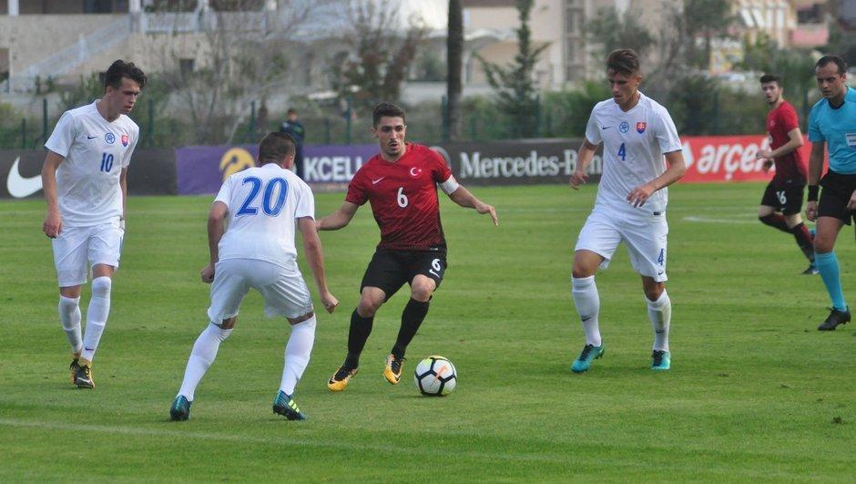 Slovakya: 3 - Türkiye: 2   MAÇ SONUCU