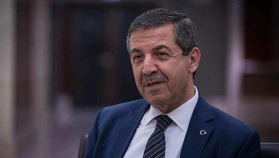KKTC Dışişleri Bakanı Ertuğruloğlu