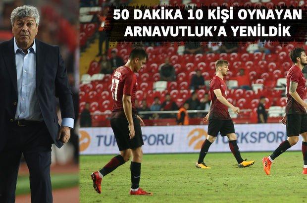 Türkiye-Arnavutluk canlı izle goller