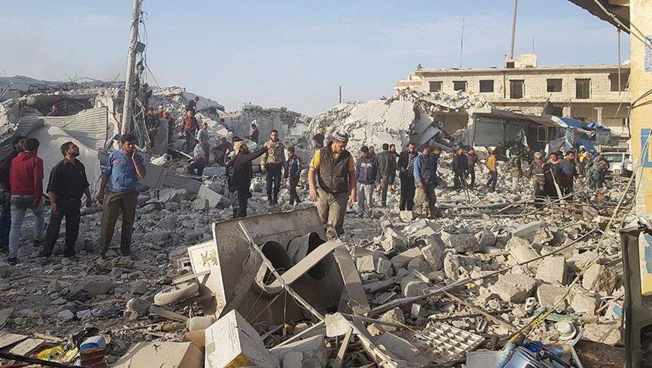 Halep İdlib Suriye