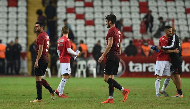 Arnavutluk'un 3 gol atmayı başardığı takımlar