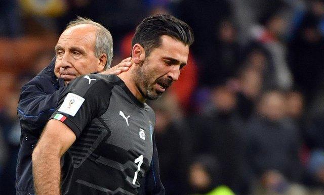 Buffon milli takımı ağlayarak bıraktı