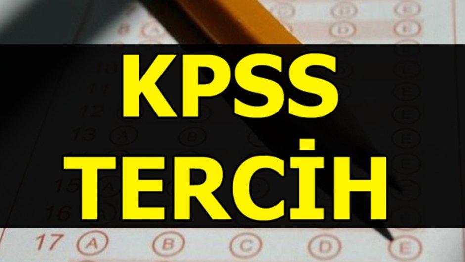 KPSS tercih