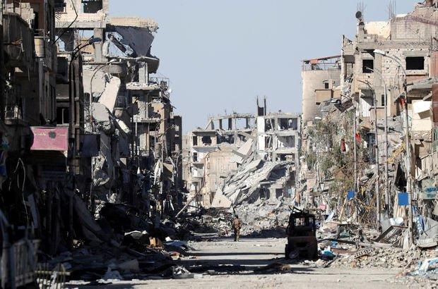 Rakka Suriye DEAŞ YPG