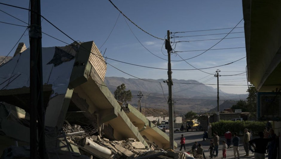 Irak depremi