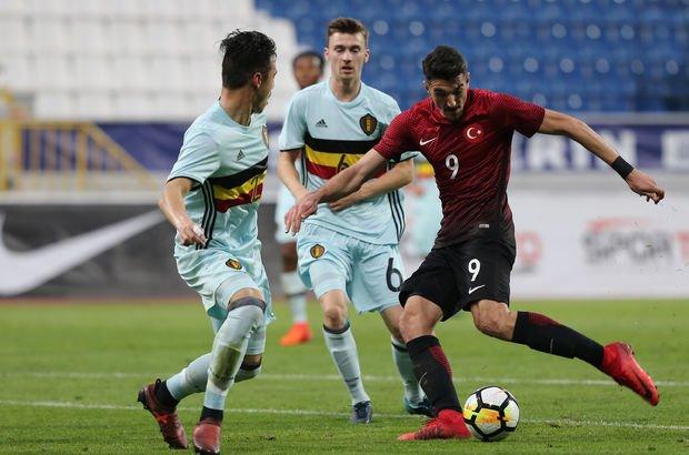 U21 Avrupa Şampiyonası Elemeleri: Türkiye: 1 - Belçika: 2  | MAÇ SONUCU