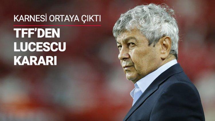 Türkiye Futbol Federasyonu, Arnavutluk ile oynanan özel maçta sahadan 3-2'lik mağlubiyetle ayrılan A Milli Takım'ın teknik direktörü Mircea Lucescu'yla ilgili kararını verdi.