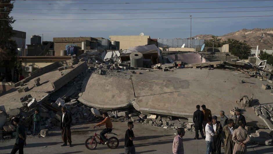 İran - Iraki deprem ölü sayısı