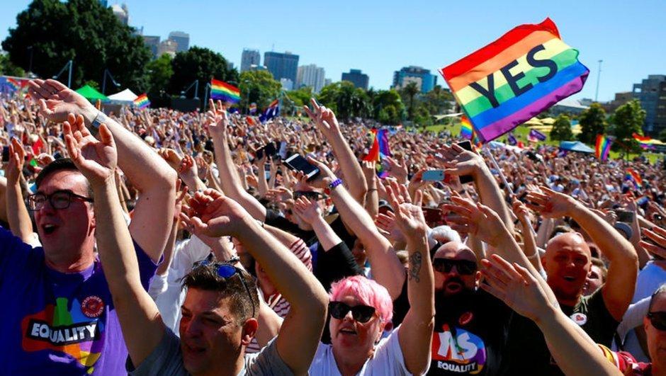 Avustralya eşcinsel evlilikler