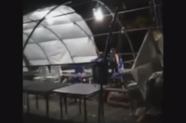 Belgrad Ormanı'nda kumar çadırı basıldı