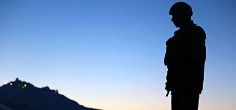 TSK: Kuzey Irak'ta 1 asker şehit oldu, 2 asker yaralandı