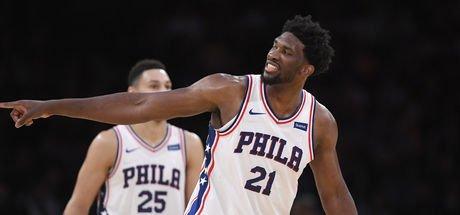 NBA'de Joel Embiid'in gecesi