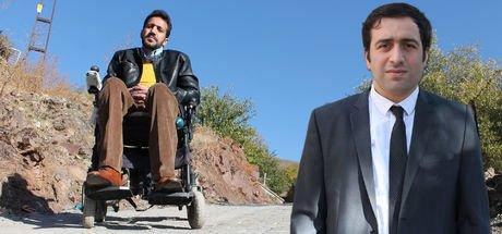 Elazığ'da ilçe kaymakamı Ömer Faruk Tuncer'in azmi, engelli Cahit'i ev hapsinden kurtardı