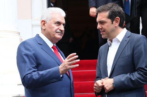 Başbakan Yıldırım'dan Yunanistan'a taziye mesajı