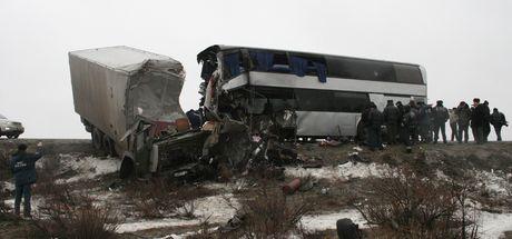 Rusya'da korkunç kaza: 15 ölü