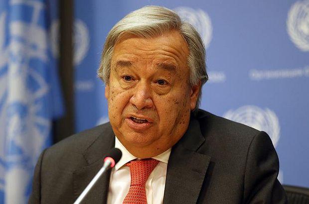 BM Genel Sekreteri Guterres'ten terörle mücadele mesajı