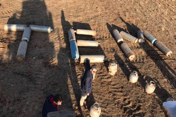 30 tüp içine yerleştirilmiş 2 ton 775 kilo patlayıcı bulundu!