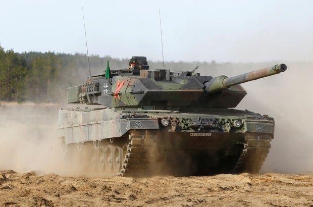 Alman ordusunda 'Leopard' skandalı!