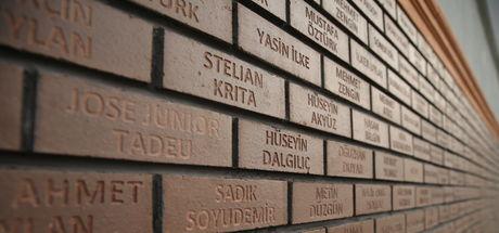 Bursaspor, anı duvarında Eren Bülbül, Tunç Uncu, Ömer Halisdemir, Fethi Sekin'in adlarına yer verdi