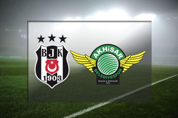 Beşiktaş ile Akhisarspor 11. randevuda