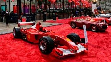 Schumacher'in aracına rekor fiyat!