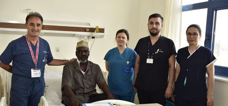 Somalili hasta Abdülkadir Yusuf Manisa'da şifa buldu