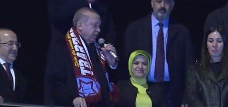 Cumhurbaşkanı Erdoğan Trabzon'da vatandaşlara seslendi