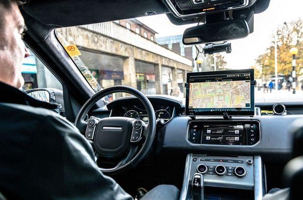 Jaguar Land Rover sürücüsüz modeli görüntülendi
