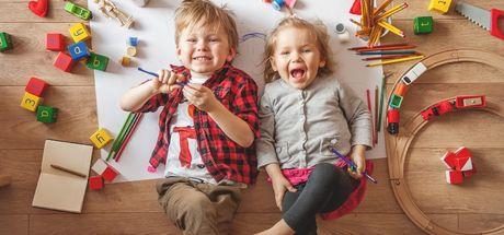 Oyun oynamak çocukların gelişimini hızlandırıyor!