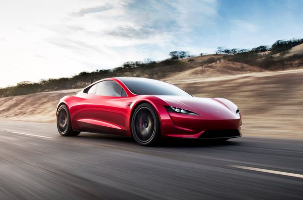 Tesla Roadster asfalta indi! İşte ilk video