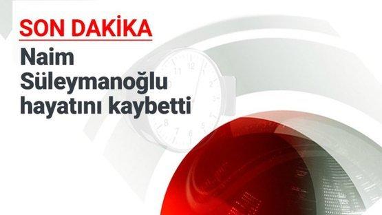 Naim Süleymanoğlu'ndan acı haber