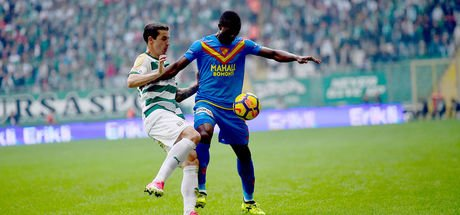 Bursaspor: 0 - Göztepe: 0 (MAÇ SONUCU)
