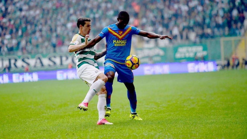 Göztepe: 0 - Bursaspor: 0 MAÇ SONUCU 15