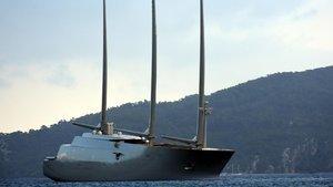 450 milyon dolarlık yelkenli yat Marmaris'te