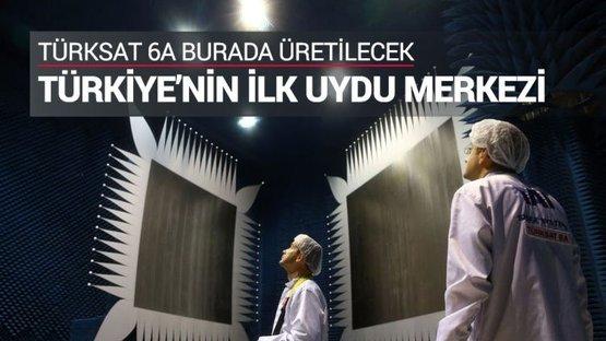 Türkiye'nin ilk yerli ve milli uydusu Türksat 6A üretilecek