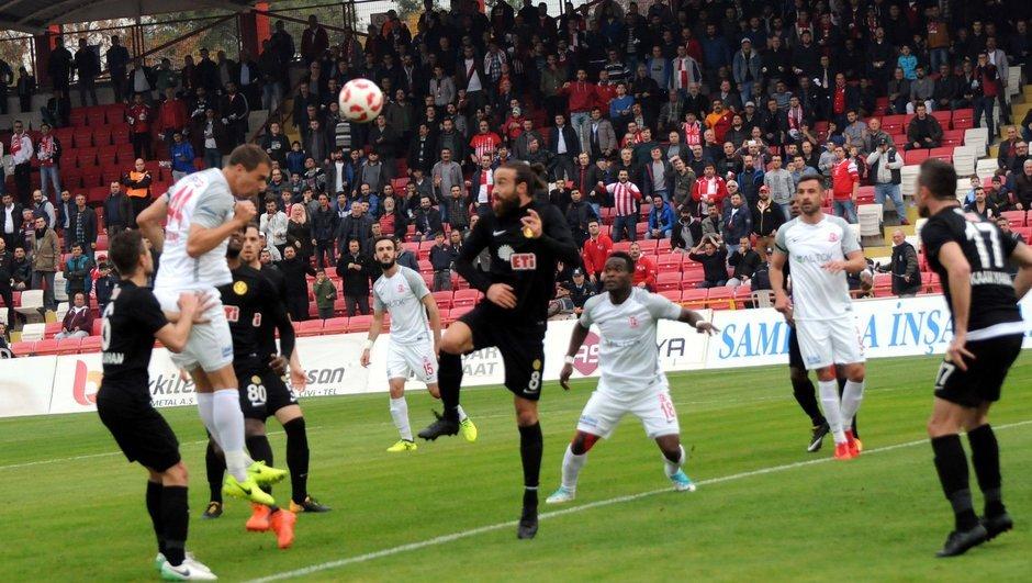 5 gollü maçta kazanan Eskişehir