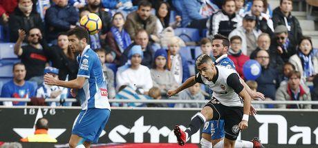 Espanyol: 0 - Valencia: 2