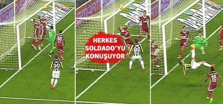 Soldado'nun golü sosyal medyada yankı buldu