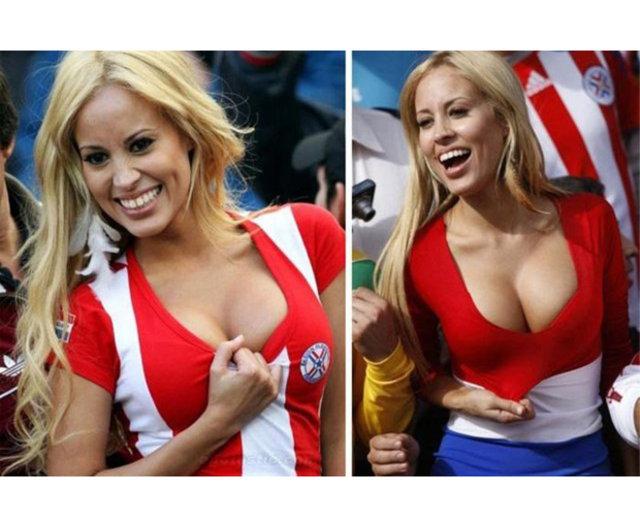 Seksi futbol taraftarları - En güzel taraftarlar