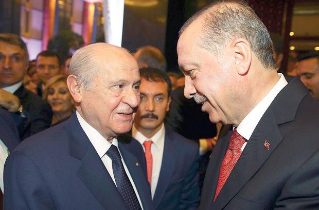 Olası AK Parti - MHP ittifakında iki olasılık!
